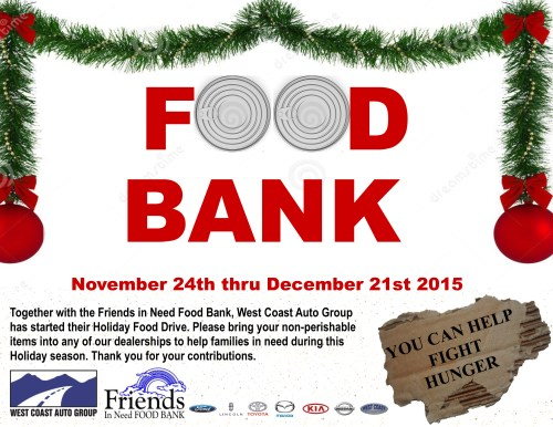 2015 Friends in Need Food Bank
